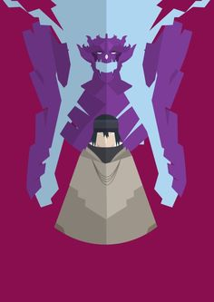 Sasuke with his Susano'o