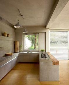 Ideen rund ums Haus küche in betonoptik Are You Considering New Kitchen Cabinets? Beton Design, Küchen Design, House Design, Design Ideas, Design Layouts, Loft Style Homes, Minimalist Kitchen, Minimalist Style, Minimalist Design