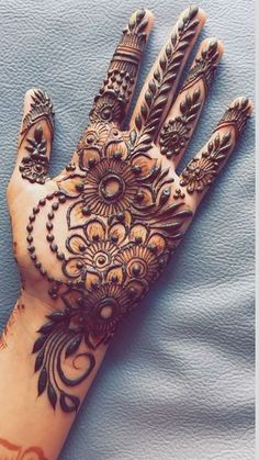 New EID Mehndi Designs 2020 Beautiful, Simple and Easy - Sty Henna Hand Designs, Dulhan Mehndi Designs, Mehndi Designs Finger, Arabian Mehndi Design, Palm Mehndi Design, Floral Henna Designs, Simple Arabic Mehndi Designs, Mehndi Designs For Girls, Mehndi Designs For Beginners