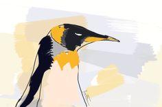 Penguin #illustration #penguin #fashion #fashionillustrator #fashionillustration #photoshop #draw #fashion #pmillustrator