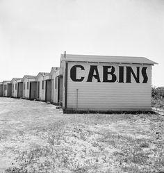 Dorothea Lange's Cabins on US 99 - 20x200
