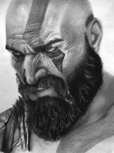 Excellent Drawing Faces With Graphite Pencils Ideas. Enchanting Drawing Faces with Graphite Pencils Ideas. Art Sketches, Art Drawings, Kratos God Of War, Graphite Art, Realistic Pencil Drawings, Marvel Drawings, Cute Cartoon Wallpapers, Marvel Art, Pencil Portrait
