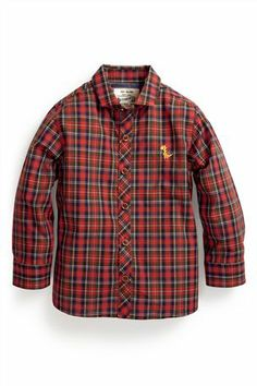 Buy Red Check Shirt (3mths-6yrs) from the Next UK online shop