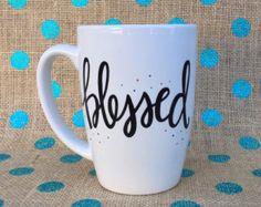 Inspirational Coffee Mug Let Your Faith Be by Hinzpirations