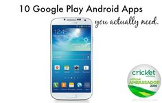 10 Google Play Android Apps you Actually Need