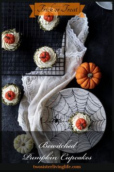 This is an easy how to guide for baked from scratch pumpkin cupcakes with vanilla cream cheese frosting and cute little Cinderella pumpkins made from almond paste. Vanilla Cream Cheese Frosting, 8 Oz Cream Cheese, Halloween Party Treats, Halloween Desserts, Halloween Celebration, Cinderella Pumpkin, Vanilla Recipes, Cheese Pumpkin, How To Make Cupcakes