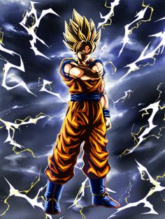 The Legendary Rare Goku in the Japanese version of Dokkan Battle