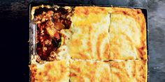 I Quit Sugar - Patrick Leigh Fermor's Moussaka by Rick Stein in From Venice to Istanbul Low Sugar Recipes, No Sugar Foods, Greek Recipes, Moussaka Recipe, Savoury Dishes, Winter Food, Cooking Recipes, Healthy Recipes, Delicious Recipes