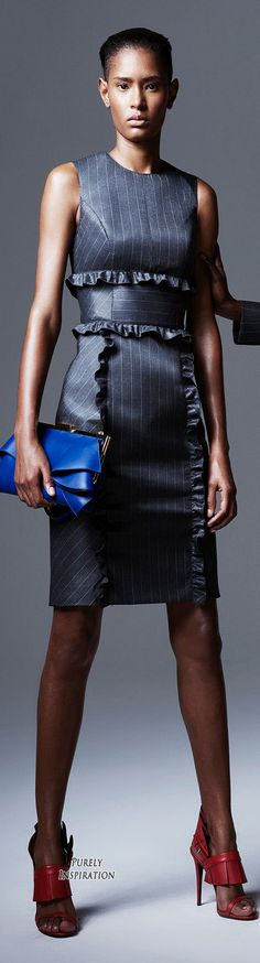 Women's Office Fashion Emanuel Ungaro Resort 2016   Purely Inspiration