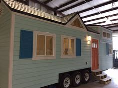 This is the Fontana Beach Tiny House on Wheels. It's built by Cornerstone Tiny Homes in Longwood, Florida. Please enjoy, learn more, and re-share below. Thank you! The Fontana Beach Tiny Hous…