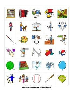 [ I N S T A N T • D I G I T A L • F I L E • D O W N L O A D ] WOW! This set includes 570 leisure-related activity picture cards such as swimming, circus, fishing, camping, painting, karate, ballet, soccer, cooking, cruise, church, vacation, reading, hopscotch, fireworks, bicycling, and many more!