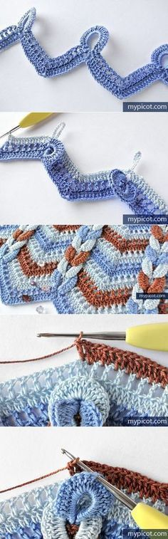 Leads to a Russian crochet board with new and interesting stitches! I believe these patterns are free.