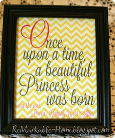 LOVELY LITTLE PRINCESS BABY SHOWER {Party}  {www.ReMarkableHome.net}
