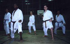 Kata en groupe réalisé par nos ceintures noires de Karaté