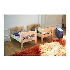 DUKTIG Puppenbett mit Bettset - IKEA