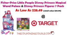 Fisher-Price Little People Disney Princess Palace and 7 Princess Figures As Low As $28.49 @ Target thru 11/11/17!!  Click the link below to get all of the details ► http://www.thecouponingcouple.com/little-people-disney-princess-palace-and-7-princess-figures/ #Coupons #Couponing #CouponCommunity  Visit us at http://www.thecouponingcouple.com for more great posts!