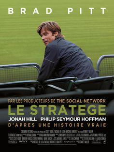 Le Stratège est un film de Bennett Miller avec Brad Pitt, Jonah Hill. Synopsis : Voici l'histoire vraie de Billy Beane, un ancien joueur de baseball prometteur qui, à défaut d'avoir réussi sur le terrain, décida de tenter sa chance