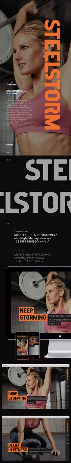 SteelStorm: Keep storming on Behance