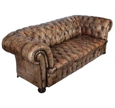 Shop Chesterfield sofas at the world's largest source of Chesterfield and other authentic period furniture. Leather Chesterfield, Chesterfield Chair, Leather Couches, Antique Chest, Vintage Green, Antique Furniture, Sofas, Accent Chairs