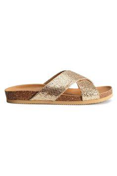 Sandalias brillantes | H&M