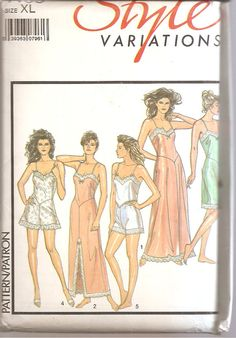 1980s Slip Nightgown CamiKnickers French Knickers by SelmaLee, $10.00