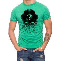 Batman Riddler Question Mark T-Shirt