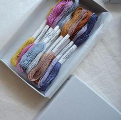 Spiced tea' embroidery and temari thread by Temaricious avail via stringharvest.com.au