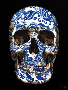 Alexandria Skull by Gerrard King