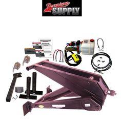 12 Ton (24,000 lb) Dump Trailer Hydraulic Scissor Hoist Kit – PH625 - Premium Supply