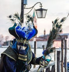 Man in mask, Venice Carnival 2015, Italy Europe - copyright Kiki Deere