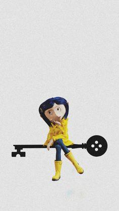 Coraline Movie, Coraline Art, Coraline Jones, Tumblr Wallpaper, Iphone Wallpaper, Coraline Aesthetic, Disney Icons, Pencil Art Drawings, Tim Burton