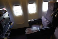 Review: Thai Royal Silk BUSINESS 777-300 Chiang Mai - Bangkok - http://youhavebeenupgraded.boardingarea.com/2015/09/review-thai-royal-silk-business-777-300-chiang-mai-bangkok/