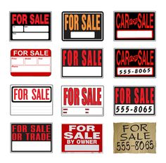 Printable Car for Sale Sign Good Ideas Pinterest Sale signs