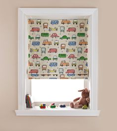 1000 images about blinds for your children 39 s bedroom on - Roman shades for kids room ...