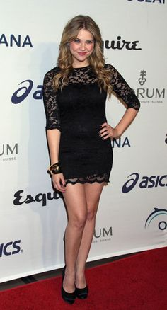 Awesome lace dress  #ashleybenson #lacedress #blackdress