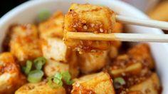 Pinkcled Plum Blog Honey Sriracha Tofu Quick Veggie Recipe.jpg