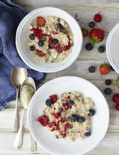 Bircher Muesli Number of servings: 2 Make up a batch of this on a Sunday night so you are prepared for the week ahead. This is one of the most...