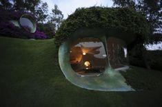 Märchenhafte organische Architektur – ein harmonisches Ganzes!