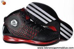 Star's favorite Adidas AdiZero Derrick Rose 3.5 Black White Red Basketball Shoes Store