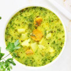 Najlepsze zupy dla dzieci. Zupy tradycyjne i zupy krem   AniaGotuje.pl Best Soup Recipes, Easy Dinner Recipes, Diet Recipes, Cooking Recipes, Healthy Recipes, A Food, Food And Drink, Vegan Gains, Ambrosia Salad