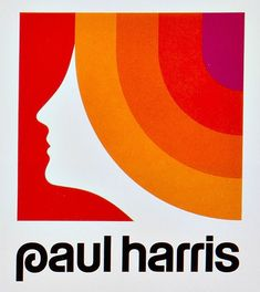"""Simple and very 70s - this """"Paul Harris"""" logo gets a mood across at first glance. It was a clothing store at the time."""