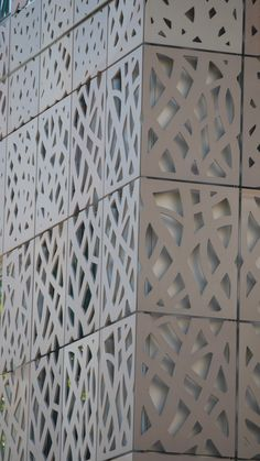 External cladding - Frit panelling