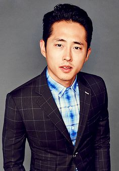 Steven Yeun photographed by Eric Ray Davidson for GQ 2015