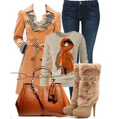 #Fall outfit. #womens fashion