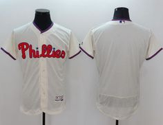 phillies blank cream flexbase authentic collection stitched mlb jersey