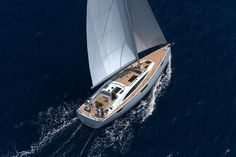 Bavaria 46 Vision. 2+1 Cabins, 4+2 Berths. Available for charter in Croatia and British Virgin Islands