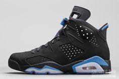 Air Jordan 6 UNC Black University Blue Release Date - SneakerBarDetroit Jordan Swag, Nike Air Jordan 6, Jordan Shoes, Patchwork, Foot Locker, Michael Jordan, Girly Stuff, Jordan Release Dates, Tenis Basketball