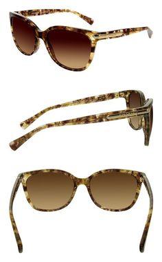 5d27867ead48 $116.73 - Coach Womens L109 Sunglasses (HC8132) Acetate Confetti Light Brown  Brown gradient #