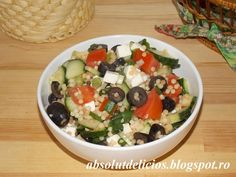 Couscous, Fruit Salad, Potato Salad, Oatmeal, Pizza, Potatoes, Cooking Recipes, Breakfast, Ethnic Recipes