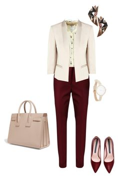 """""""#333"""" by snows22 ❤ liked on Polyvore featuring JVL, Dorothee Schumacher, Coast, Nak Armstrong and Yves Saint Laurent"""